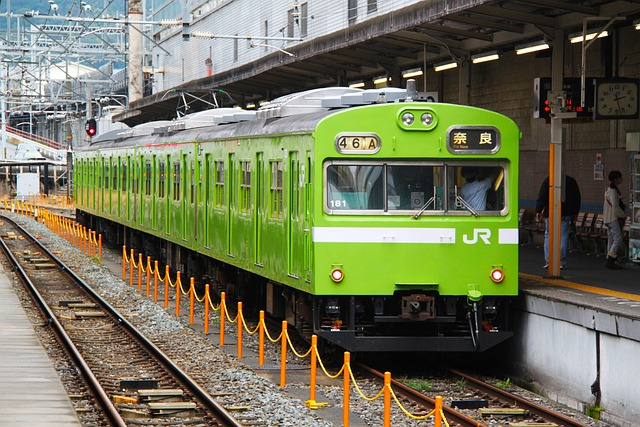Green Train, Jr Train, Train Station, Train, Nara