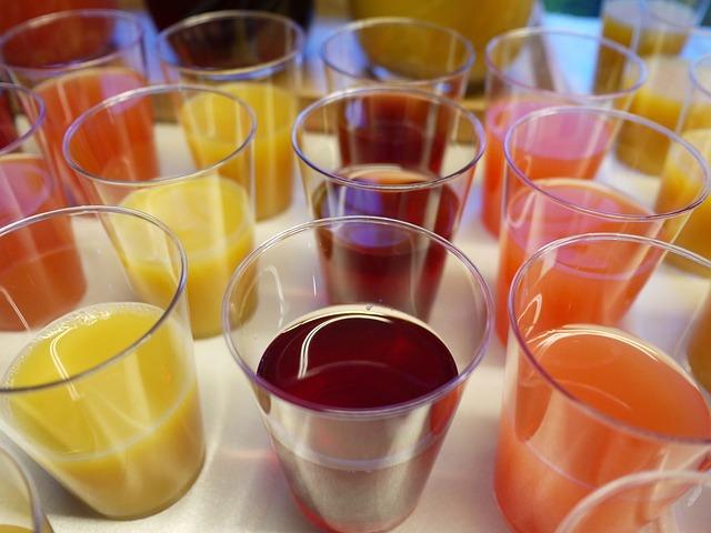Beverages, Drinks, Juice, Freshness, Orange, Grapes