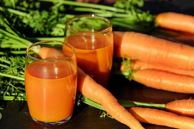 Carrot Juice, Juice, Carrots, Vegetable Juice, Vitamins
