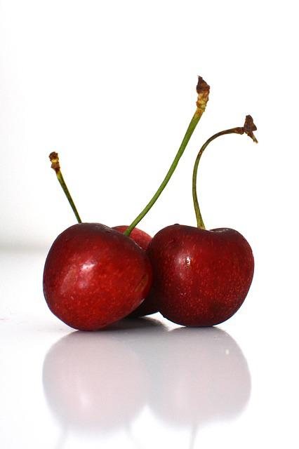 Fruit, Food, Cool, Luscious, Brilliant, Cherry, Juicy