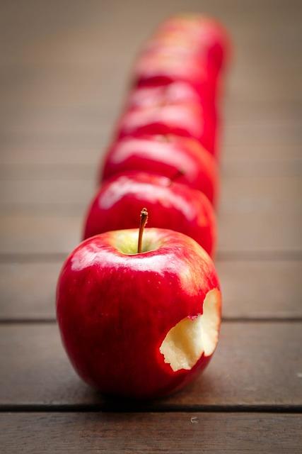 Apples, Fruit, Red, Juicy