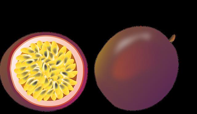 Passion Fruit, Food, Passion-fruit, Juicy