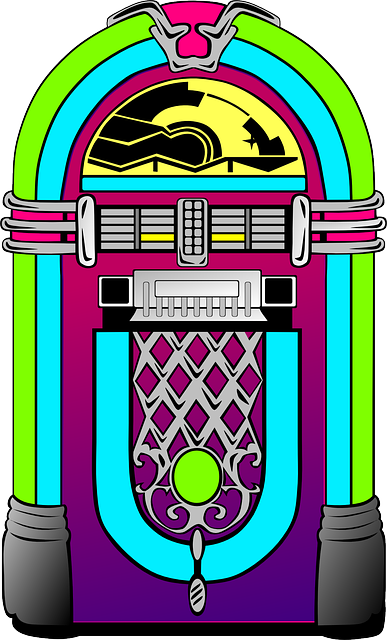 Jukebox, Music, Music Player, Multimedia, Media, Rock