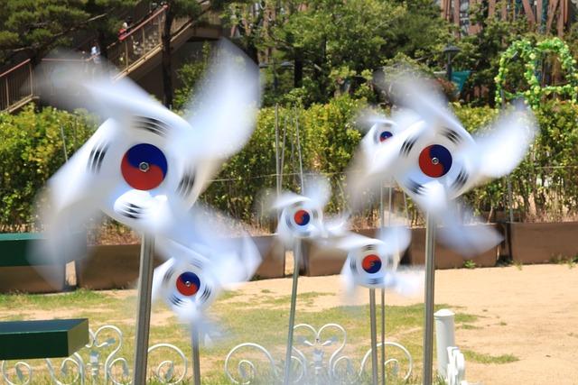 Julia Roberts, Korea, Pinwheel, Rotation, Wind, Park