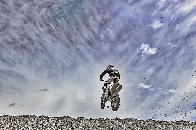 Enduro, Jump, Bike
