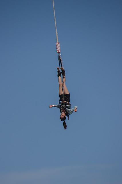 Jump, Air, Bungy