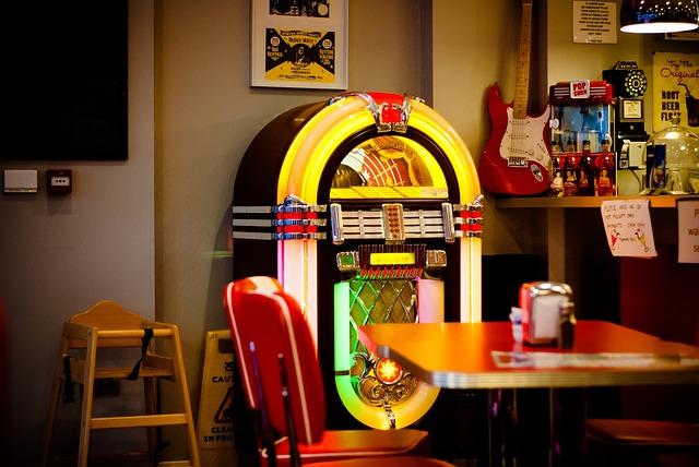 Jukebox, Whitby, Jumping Jack's, Vintage