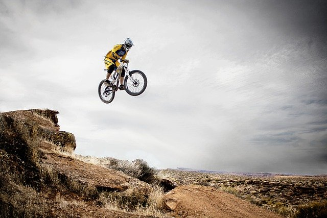 Mountain Biking, Sports, Leaping, Jumping, Freeriding