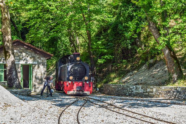 Train, Changing Line, Railway, Transportation, Junction