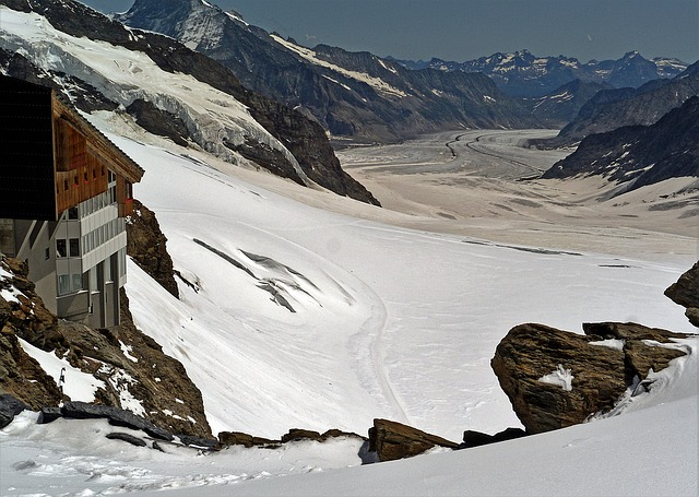 World Natural Heritage, Aletsch Glacier, Jungfraujoch