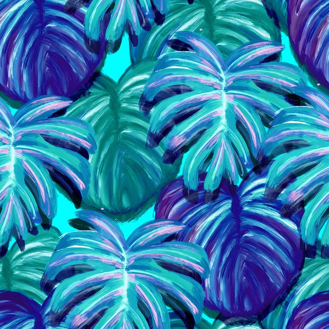 Leaves, Tropical, Palma, Jungle, Pattern, Picture