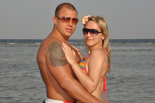 Love, Sea, Couple, Fidelity, Just Married