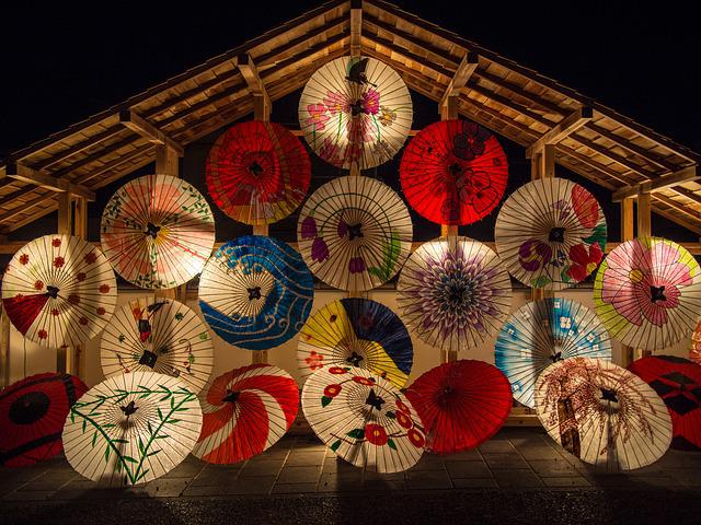 Japanese Umbrellas, Umbrella, Japanese Style, K