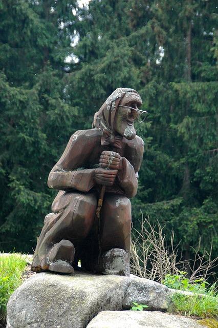 The Witch, Kästehaus, Goslar-oker, Destination, Wood