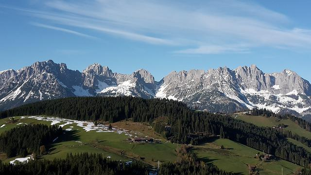 Wilderkaiser, Kaiser Mountains, Summer, Alm, Mountains
