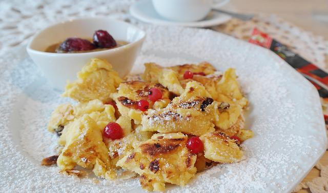 Kaiserschmarrn, Eat, Dessert, Coffee Time, Delicious