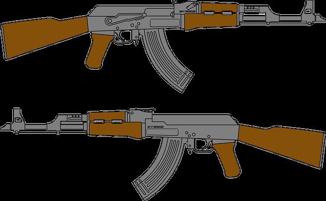 Gun, Assault, Rifle, Kalashnikov, Weapon, Army, Guns