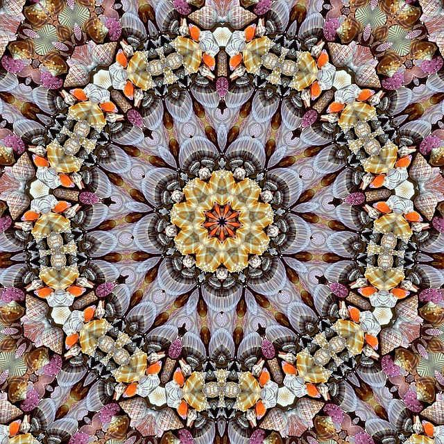 Abstract Art, Texture, Mandala, Kaleidoscope