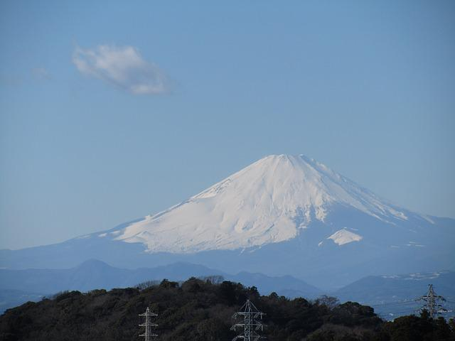Mt Fuji, Kamakura, Ten-en Hiking Trails, New Year's Day