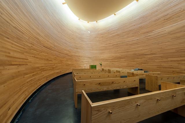 Kamppi Chapel Of Silence, Church, Design, Helsinki