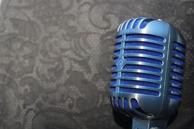 Mic, Microphone, Equipment, Vocal, Retro, Karaoke