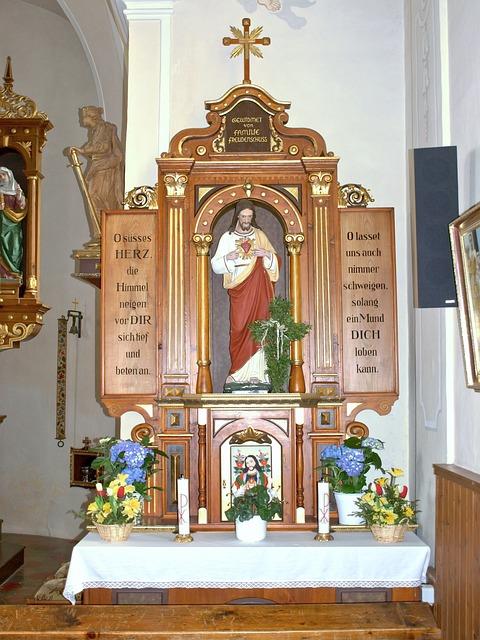 Karlstift, Hl Bartholomäus, Altar, Interior