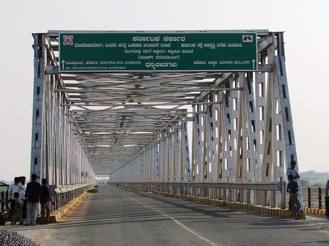 Karnataka Andhra, Bridge, India