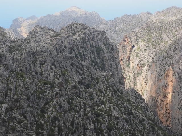 Karst Area, Mallorca, Serra De Tramuntana, Mountains