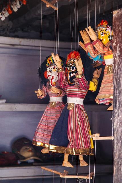 Nepal, Puppets, Kathmandu