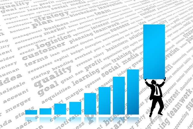 Success, Statistics, Businessman, Kaufmann, Arrows