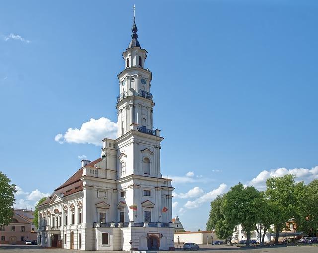 Lithuania, Kaunas, Town Hall, Town Hall Square