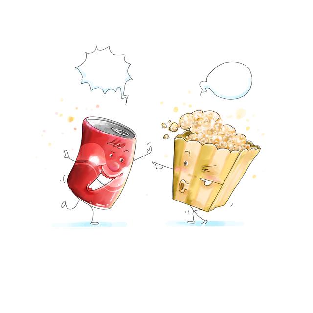 Doodle, Sketch, Cartoon, Food, Kawai, Friend