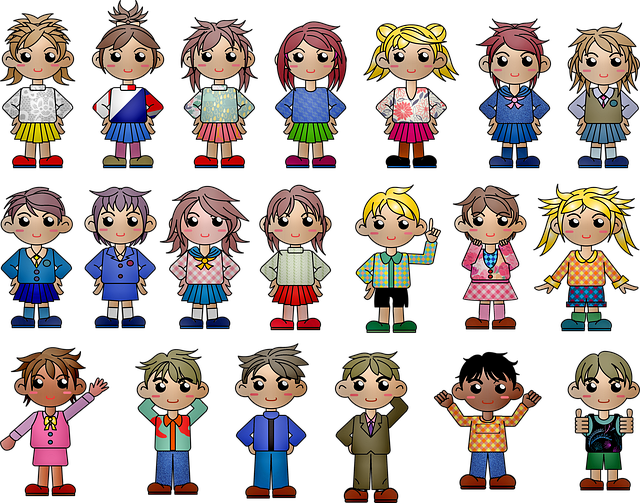 Chibi Children, Kawaii Boy, Kawaii Girl, Kawaii, Cute