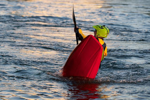 Kayak, White Water, Water Sports, Paddle, Spray