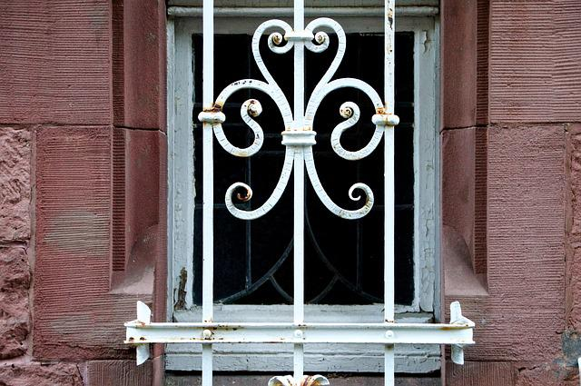 Basement, Window, Grid, Keller, Heidelberg, Ornament