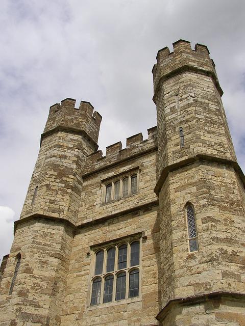 Leeds, Castle, Kent, England, Defence, Citadel