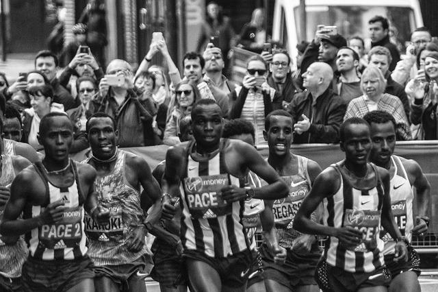 London Marathon, Elite Runners, Kenyan Runners