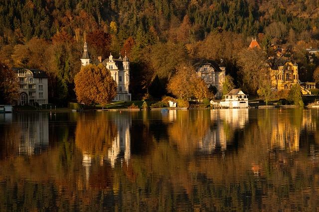 Water Reflection, Wörthersee, Carinthia, Kerbl
