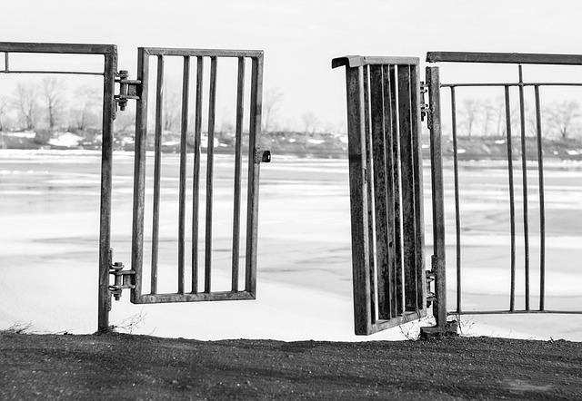 Gate, Door, Rusty, Key, Iron, The Ruin