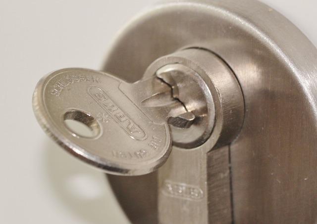 Door Lock, Castle, Key, Fitting, Capping, Input