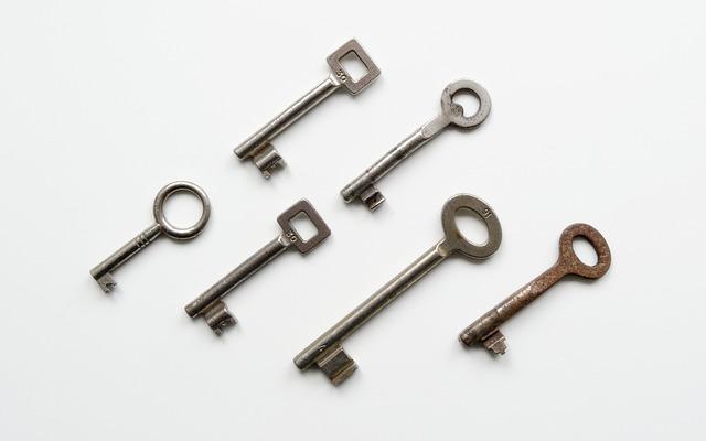 Key, Keys, Lock, Locked, Metal, Security, Bart, Blade