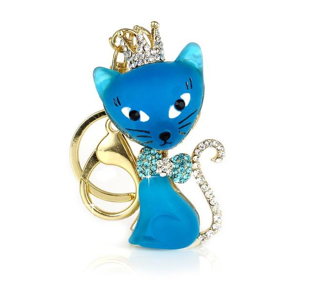 Cat, Key Ring, Keychain, Key Ring Pendant, Animals