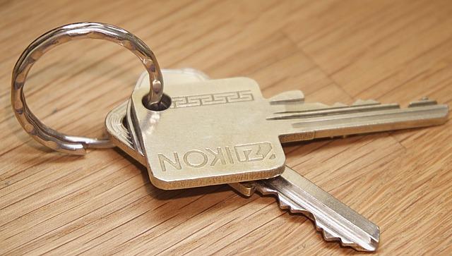 Keys, Key Ring, Security, Open, Unlock, Metal, Secure
