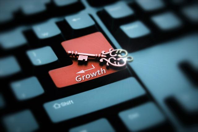 Key, Keyboard, Growth, Button, Finance, Economy
