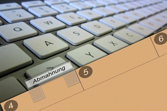 Keyboard, Folder, Shield, Cease And Desist Letter, File