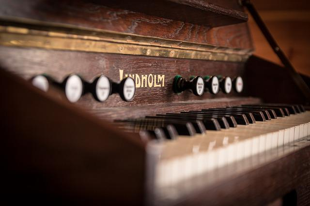 Keyboard Instrument, Music, Old, Antique, Poland