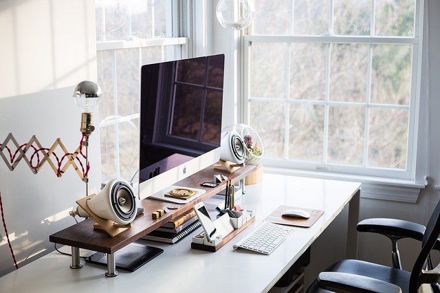 Computer, Keyboard, Apple, Electronics, Modern