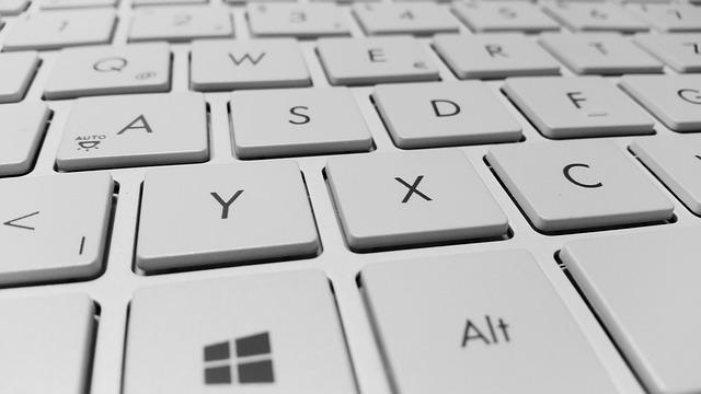 Keyboard, Computer, Keys, White, Periphaerie