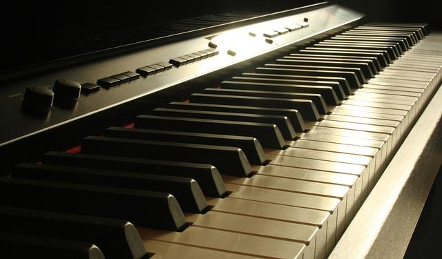 Piano, Keys, Music