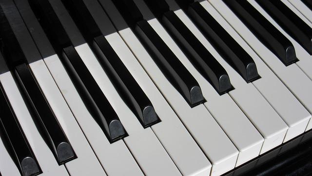 Piano, Keys, Close, Piano Keyboard, Musical Instrument